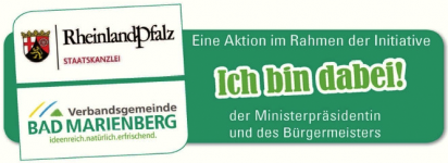 Ich bin dabei - Initiative Bad Marienberg